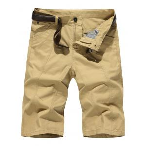 Straight Slim Fit Chino Shorts
