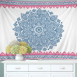 Wall Hanging Art Decor Boho Mandala Tapestry -