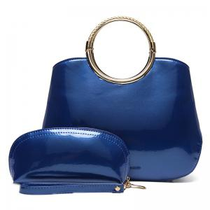 Patent Leather Wristlet and Handbag