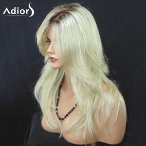 Adiors Long Side Part Colormix Slightly Curled Synthetic Wig -