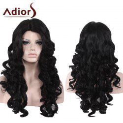 Adiors Side Part Shaggy Long Loose Wave Synthetic Wig
