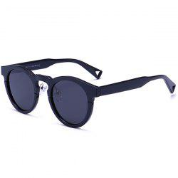 Polarized  Anti UV Hollow Out Leg Sunglasses - DOUBLE BLACK