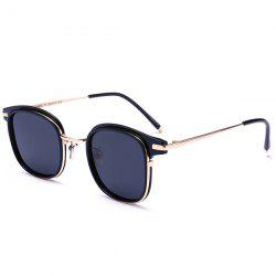 Anti UV Metal Frame Splicing Sunglasses