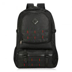 Mesh Panel Buckle Straps Outdoor Backpack