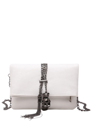Fold Down Chains Tassel Crossbody Bag