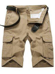 Summer Zipper Cargo Shorts