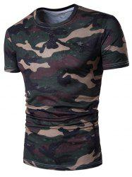 Star Camo Short Sleeve T-Shirt