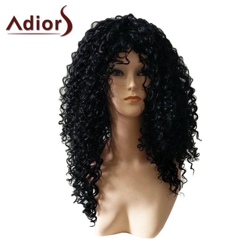 Image of Adiors Long Afro Curly Heat Resistant Synthetic Wig