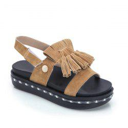Tassels Led Luminou Sandals