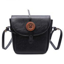 Button Mini Cross Body Bag