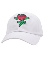 Cartoon Rose Embroidered Baseball Hat