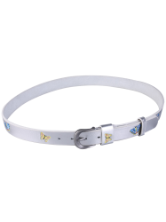 Pin Buckle Tiny Butterfly Embroidered Belt