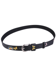 Floral Butterfly Stars Embroidered Retro Belt
