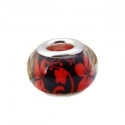 Flower Pattern DIY Charm Bead -