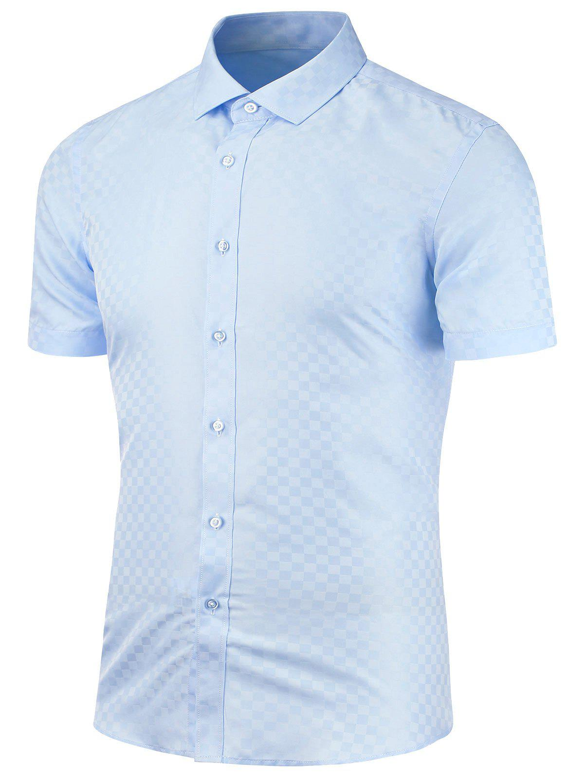 Slim Fit Short Sleeve Shirt