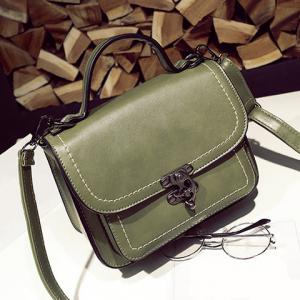 Stitching Cross Body Handbag -