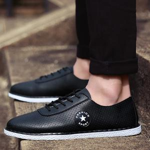 Tie Up Breathable Casual Shoes -