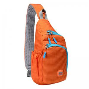 Outdoor Waterproof Multipocket Chest Bag - Orange