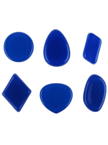 Outfits MAANGE 6PCS Silicone Makeup Sponges - CERULEAN  Mobile
