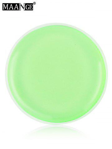 Latest MAANGE 6PCS Silicone Makeup Sponges - LIGHT GREEN  Mobile