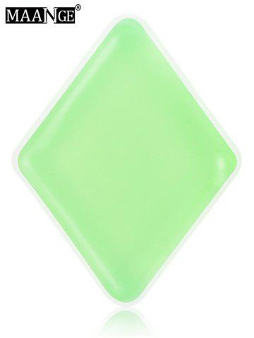 Chic MAANGE 6PCS Silicone Makeup Sponges - LIGHT GREEN  Mobile