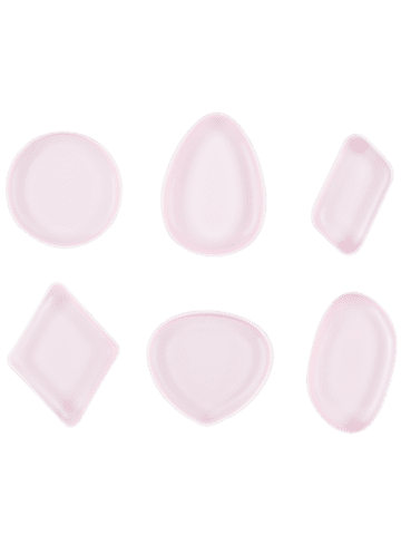 Chic MAANGE 6PCS Silicone Makeup Sponges - PINK  Mobile