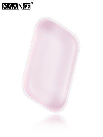 New MAANGE 6PCS Silicone Makeup Sponges - PINK  Mobile