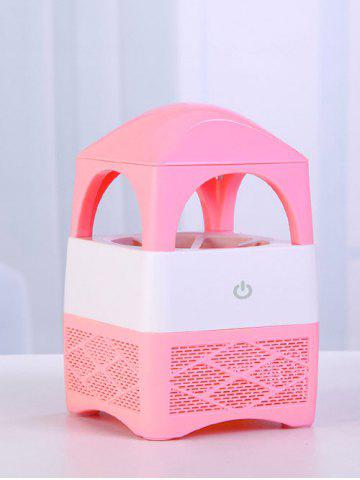 Mâle USB Mute Indraft Vortex Type de ventilateur Mosquito Killer Lamp Tower ROSE PÂLE