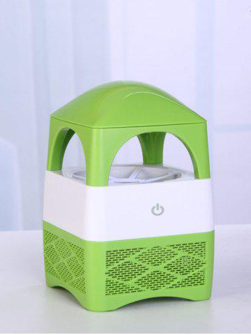 Household USB Mute Indraft Vortex Fan Type Mosquito Killer Lamp Tower - Green
