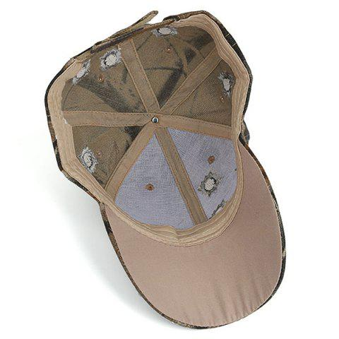 Cheap Camouflage Shothole Embroidered Baseball Hat - COLORMIX  Mobile