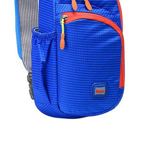 Latest Outdoor Waterproof Multipocket Chest Bag - BLUE  Mobile