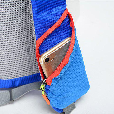 Chic Outdoor Waterproof Multipocket Chest Bag - BLUE  Mobile