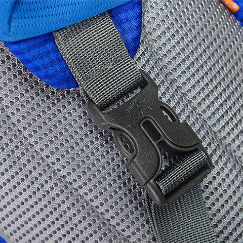 Outfit Outdoor Waterproof Multipocket Chest Bag - BLUE  Mobile
