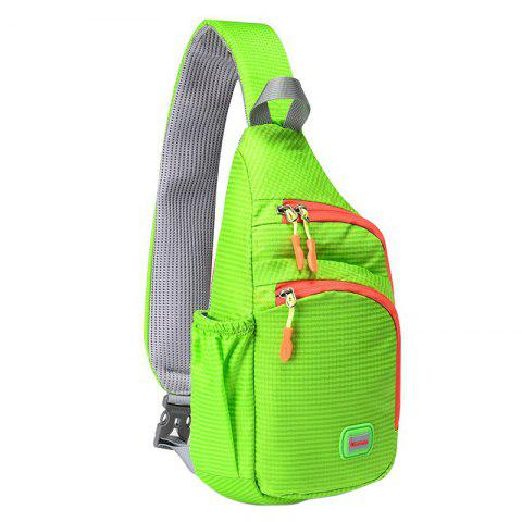 Outfit Outdoor Waterproof Multipocket Chest Bag - APPLE GREEN  Mobile