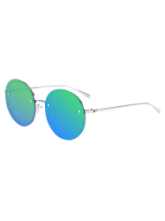 Anti UV Reflective Metal Round Mirror Sunglasses