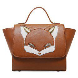 Cartoon Fox Winged Cross Body Handbag
