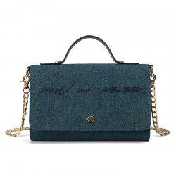 Now or Never Denim Chain Handbag