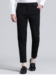 Slimming Zipper Fly Nine Minutes of Suit Pants