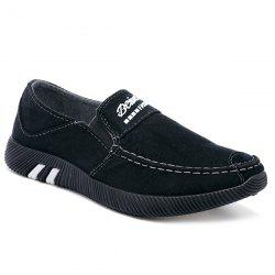 Casual Breathable Slip On Canvas Shoes -
