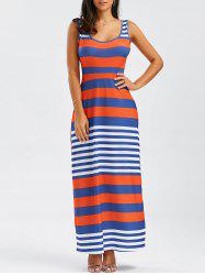 Stripe Maxi Tank Dress
