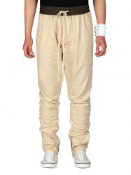 Drawstring Straight Leg Casual Pants