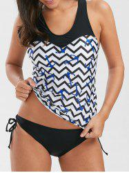 Anchor Chevron Racerback Nautical Tankini