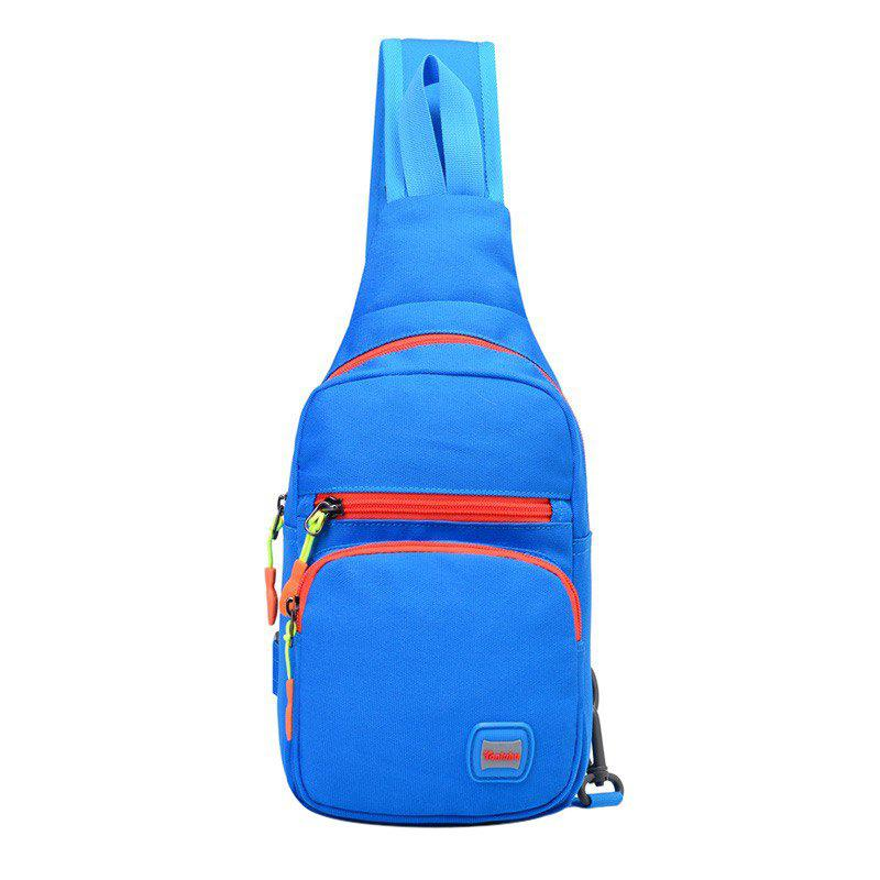 New Multi Pockets Waterproof Nylon Chest Bag