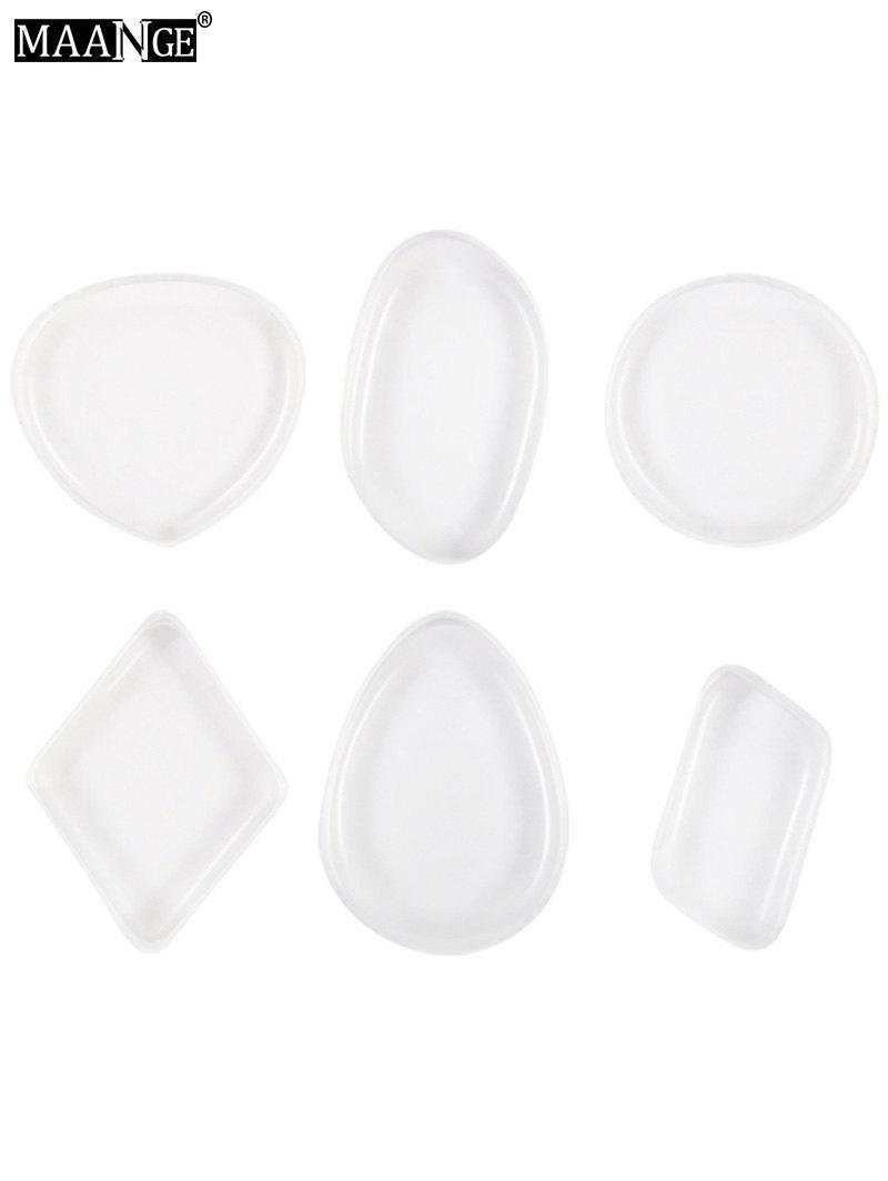 Outfits MAANGE 6PCS Silicone Makeup Sponges