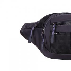 Outdoor Plaid Waterproof Nylon Waist Bag -