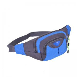 Outdoor Multipocket Nylon Waterproof Waist Bag -