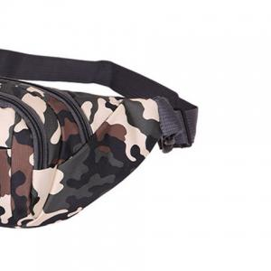 Outdoor Waterproof Camouflage Waist Bag - ARMY GREEN