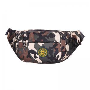 Outdoor Waterproof Camouflage Waist Bag - Army Green - 44