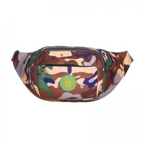 Outdoor Waterproof Camouflage Waist Bag - Brown - 44