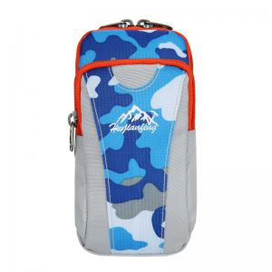 Outdoor Camouflage Lightweight Arm Bag - Blue Camouflage - 44